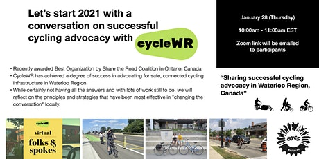 A conversation on successful cycling advocacy with CycleWR tickets