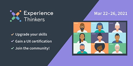 User Experience (UX) Certification and Courses - MARCH 2021 tickets