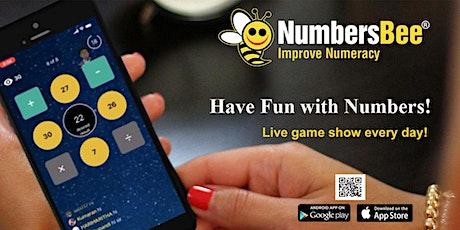 NumbersBee Daily Gameshow tickets