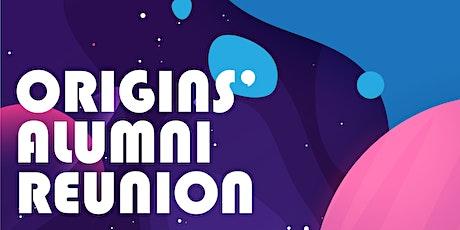 Origins' Alumni Reunion 2021 tickets
