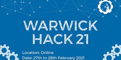 WarwickHACK 2021 tickets