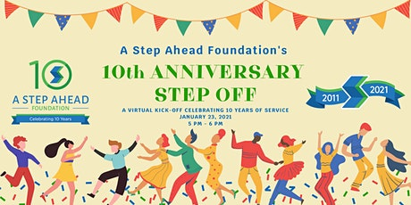 A Step Ahead Foundation's 10th Anniversary Step Off tickets