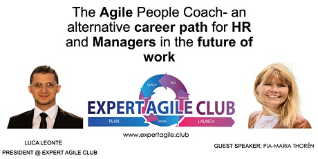 The Agile People Coach, an alternative career path for HR and Managers tickets