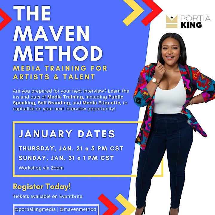 The Maven Method: Media Training (JANUARY) image