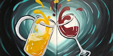 Brushes and Brews at Ironshield Brewing ! tickets