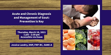 Acute and Chronic Diagnosis and Management of Gout: Prevention is Key tickets
