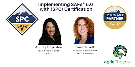 Implementing SAFe 5 with SAFe® 5 Program Consultant (SPC)Certification tickets
