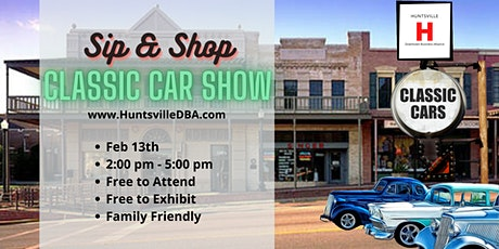 2nd Saturday Sip and Shop on The Square Classic Car Show tickets