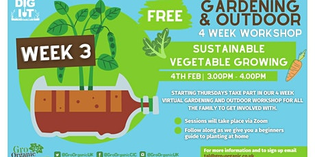 Sustainable Vegetable Growing tickets