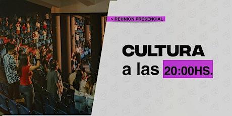 Sábado 16/01 20 hs - Cultura Reunión de Jóvenes en Caudal de Vida entradas