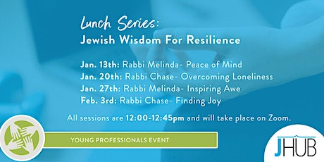jHUB Lunch Series: Jewish Wisdom for Resilience tickets