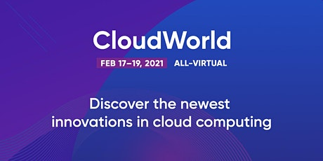 CloudWorld 2021 tickets