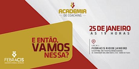 [RIO DE JANEIRO/RJ] Academia de Coaching ingressos