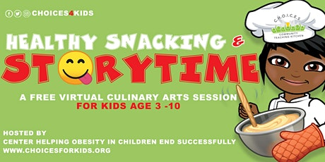 Snack & Story Time Series 2021 tickets