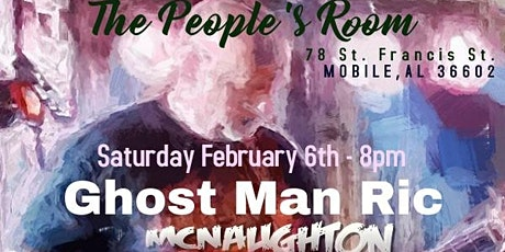 An Evening with Ghost Man Ric Trio tickets