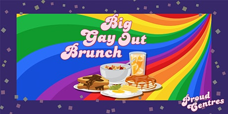 Proud Centres FREE Big Gay Out Brunch tickets