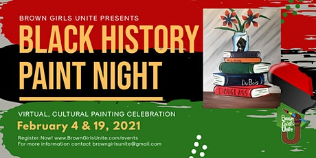 Virtual Paint Night: Black History Month tickets