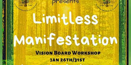 Limitless Manifestation-Vision Board Workshop tickets