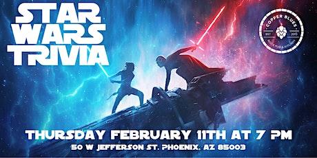 Star Wars Trivia at Copper Blues Rock Pub and Kitchen tickets