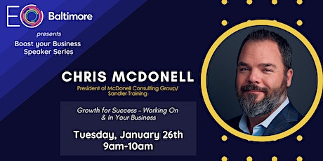 EO Baltimore Presents: Growth for Success - Working on & In Your Business tickets