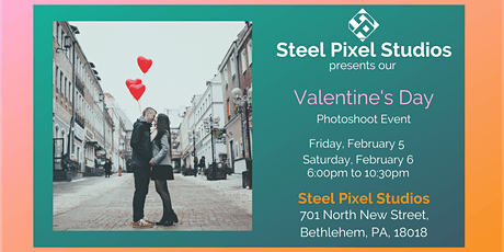 Valentines Day Photoshoot: Presented by Steel Pixel Studios tickets