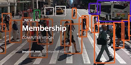 Newlab Membership | Computer Vision tickets