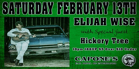Elijah Wise with Special Guest Hickory Tree tickets