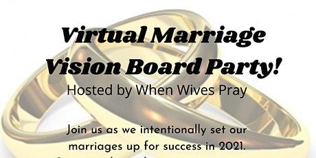 Virtual Marriage Vision Board Party tickets