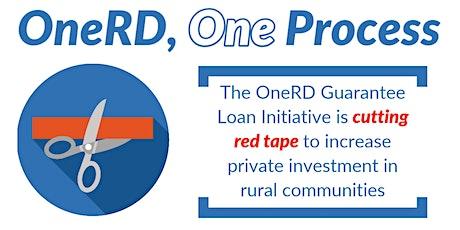 Webinar: OneRD Guarantee Loan Initiative in Wyoming tickets