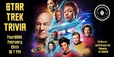 Star Trek Trivia at Copper Blues Rock Pub and Kitchen tickets