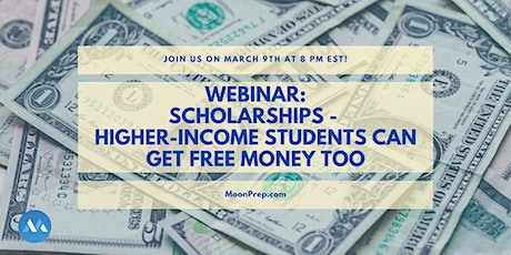 Webinar: Winning Scholarships and Reviewing Your Financial Aid letter tickets
