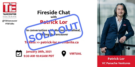 Fireside Chat with Patrick Lor tickets