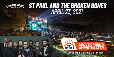 St. Paul and The Broken Bones at The Caverns Above Ground Amphitheater tickets