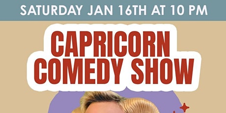 Capricorn Stand-Up Comedy Showcase tickets