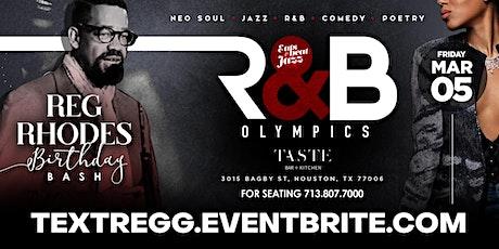 R&B OLYMPICS > REG RHODES BIRTHDAY JAM SESSION tickets