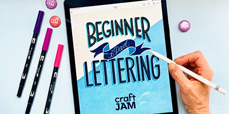 Beginner iPad Lettering WebJam 1 + 2 tickets