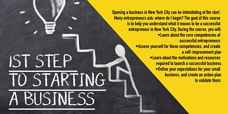 First Step to Starting a Business_Virtual_DreamCenterHarlem_2/4/2021 tickets