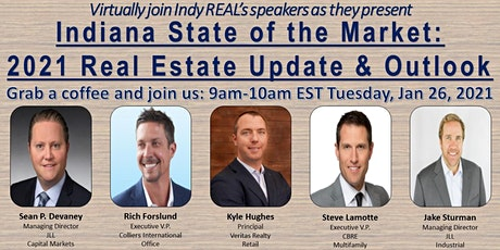 Indiana State of the Market: 2021 Real Estate Update and Outlook tickets