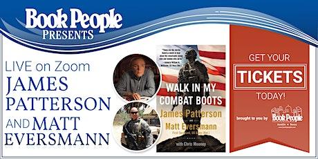 BookPeople Presents: James Patterson with Matt Eversmann, Live on Zoom! tickets