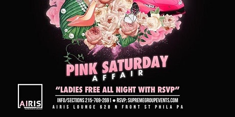 Pink Saturday Affair  at AIRIS LOUNGE tickets