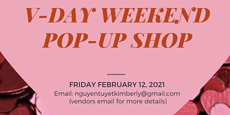 V-Day Pop-Up Shop (4 Vendors needed) tickets