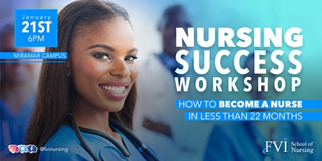 Nursing Success Workshop - Miramar Campus tickets
