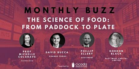 Monthly Buzz | The Science of Food: From Paddock to Plate tickets