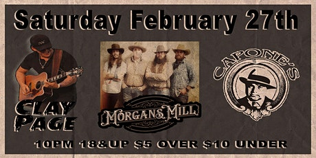 Clay Page with Morgans Mill tickets