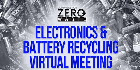 Electronics & Battery Recycling tickets