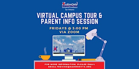 Virtual Campus Tour & Parent Info Session tickets