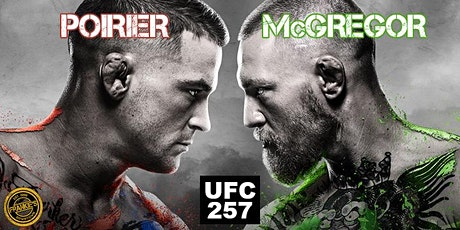 Watch McGregor vs Poirier in UFC 257 in Downtown Dallas at Frankie's! tickets
