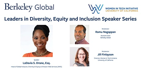 Conversation with LaDavia Drane, Global Inclusion, Diversity, Equity at AWS tickets