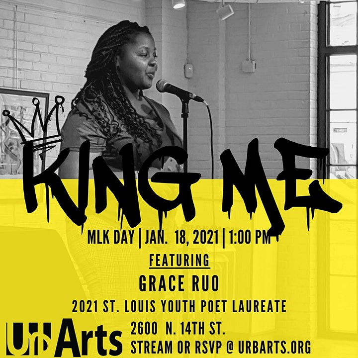 King Me: 7th Annual Youth Poetry Performance (LIVE) image