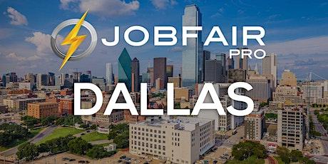 Dallas Virtual Job Fair - March 18, 2021 Dallas Career Fairs tickets